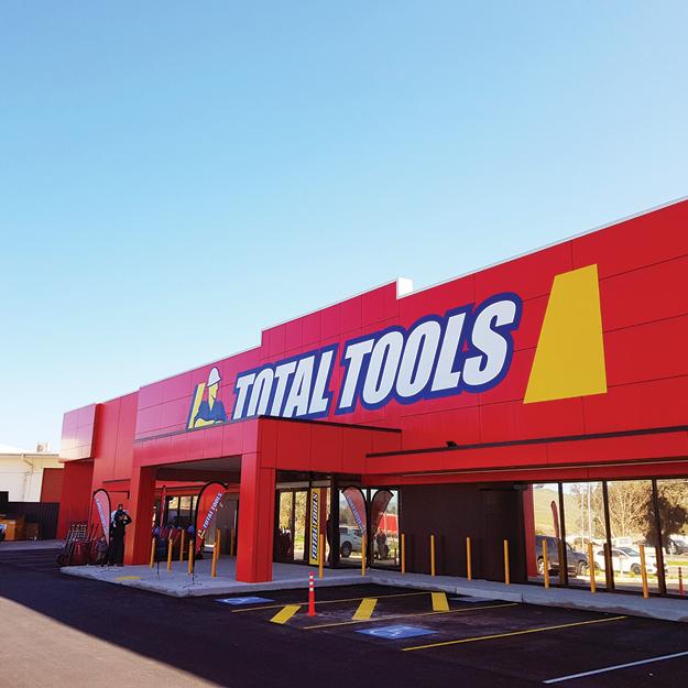 Total Tools Signage
