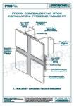 PROfix Flat Stick Installation - Facade FR